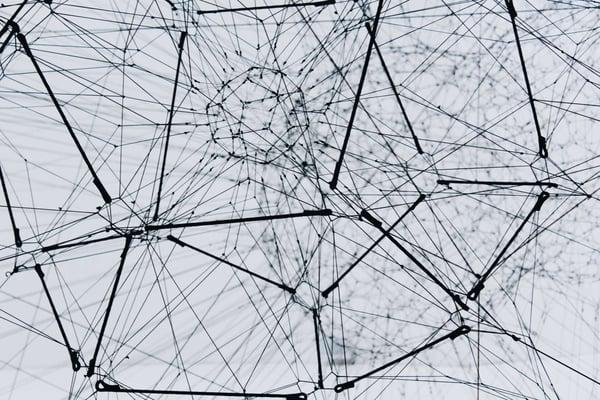 network wires illustrating SASE concept